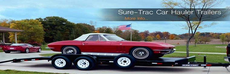 Sure Trac Car Haulers in stock!!