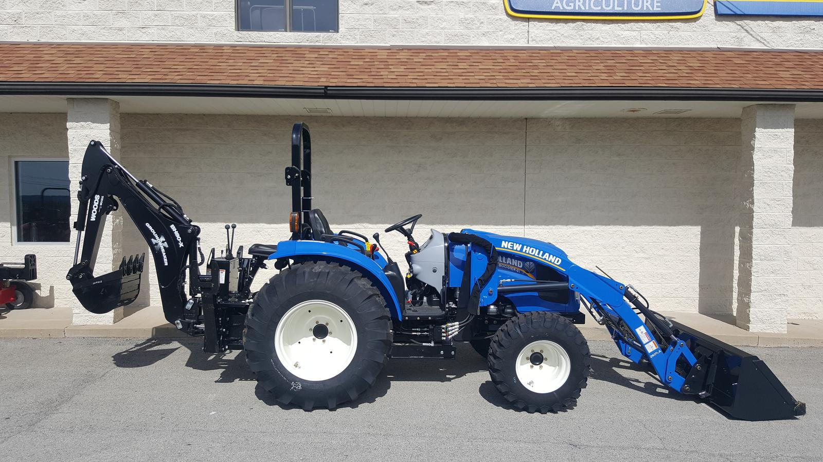 garden models series hp for boomer tractors new holland agriculture sale
