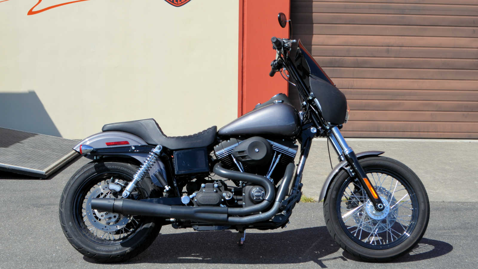2016 harley davidson fxdb street bob charcoal pearl for sale in