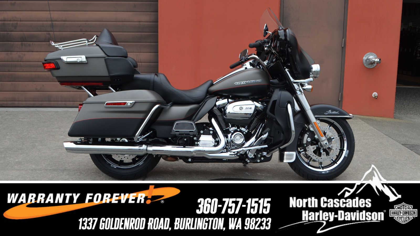 2019 Harley Davidson Flhtk Ultra Limited Rockford Fosgate For Hd Cvo Denblk 00