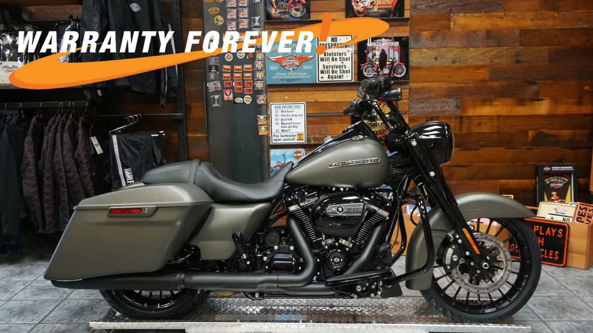 2018 Harley-Davidson® Road King® Special - Industrial Gray Denim for ...