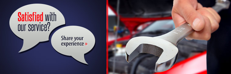 Satisfied with our service? Click here to share your experience.