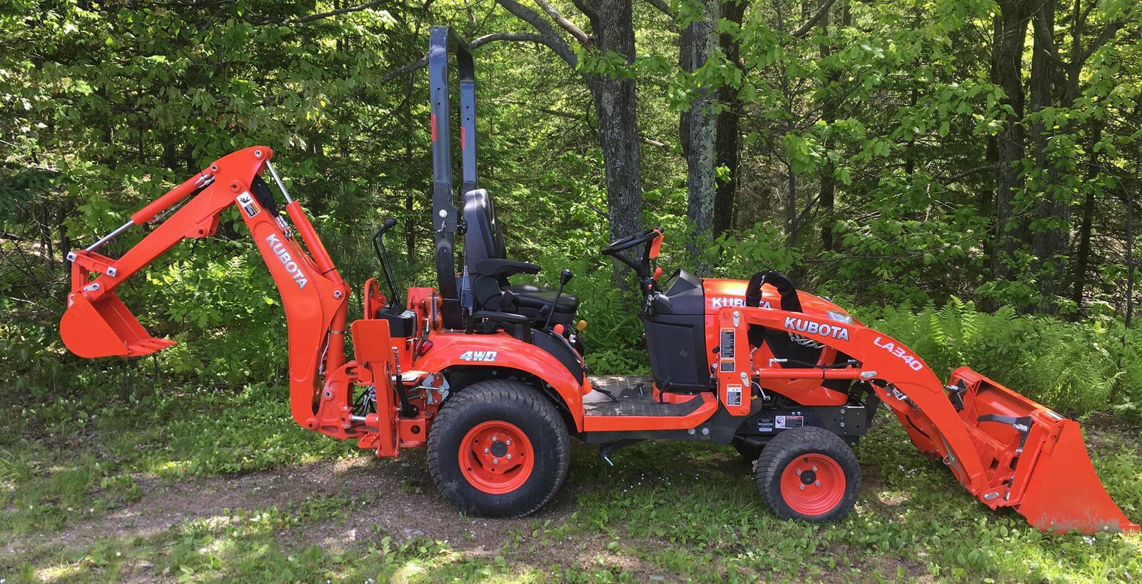 Agricultural Tractors from Kubota Wallingford Equipment