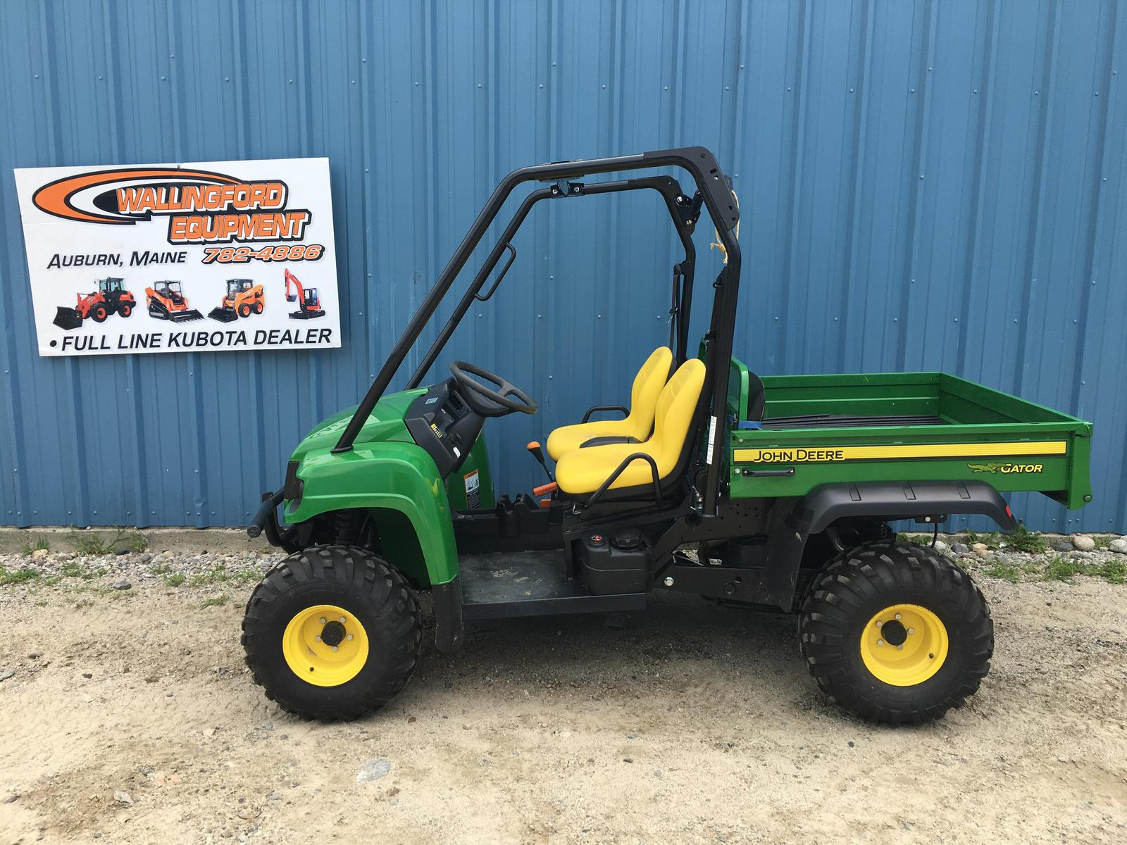 2013 john deere gator hpx 4x4 for sale in auburn, me. wallingford