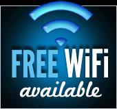 Free WiFi available,