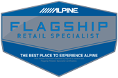 We are an Alpine Flagship Retail Specialist.