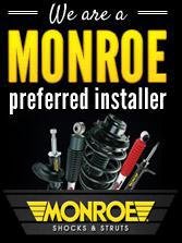 We are a Monroe preferred installer