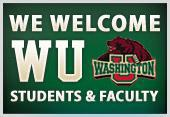 We Welcome WU Students & Faculty