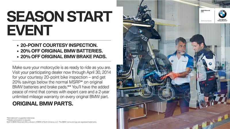 BMW 20 Point Inspection