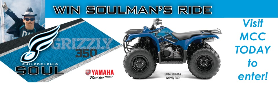 Enter TODAY at MCC to Win Soulman's Ride!