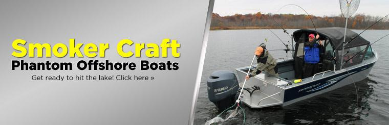 Get ready to hit the lake with Phantom offshore boats by Smoker Craft. Click here to view.