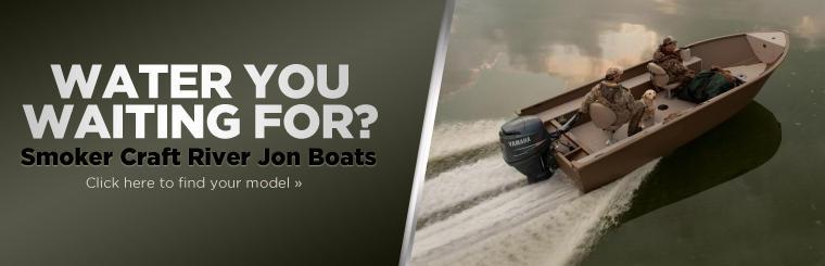 Click here to view Smoker Craft River Jon Boats.