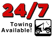 24/7 Towing Available!