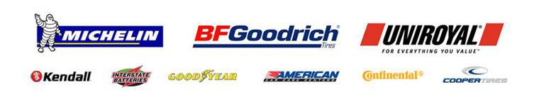 We carry products from Michelin®, BFGoodrich®, Uniroyal®, Kendall, Interstate Batteries, Goodyear, Continental, and Cooper. We are an American Car Care Center.