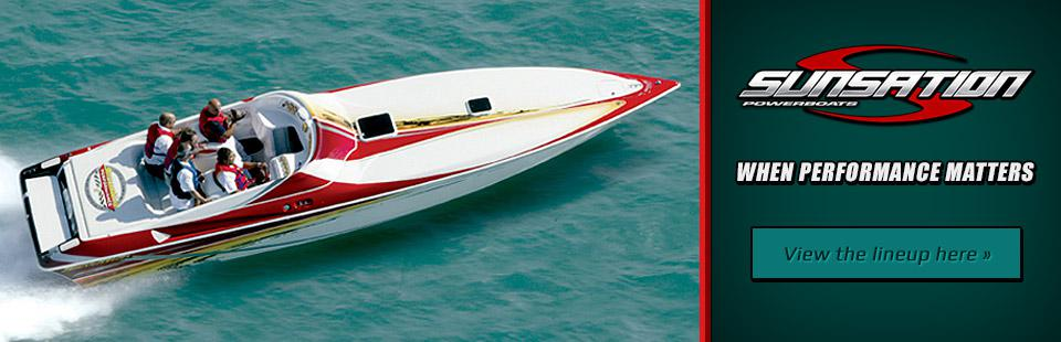 Sunsation Powerboats: When Performance Matters