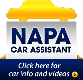 Click here for NAPA Car Assistant information and videos.