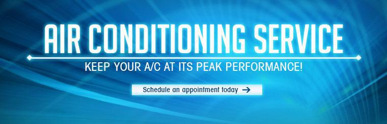 Keep your air conditioning at its peak performance! Click here to schedule an appointment today.