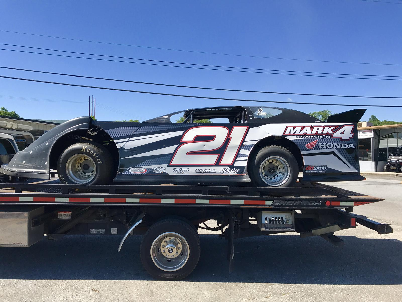 2007 BARRY WRIGHT LATE MODEL DIRT CRATE