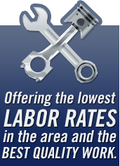 Offering the lowest labor rates in the area and the best quality of work.