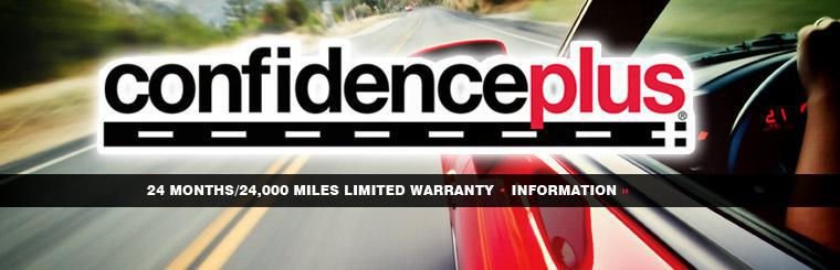 Click here for information on the ConfidencePlus Warranty!