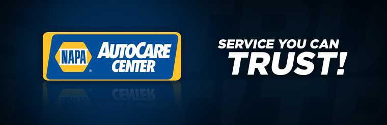 We are a NAPA AutoCare center offering you service you can trust.