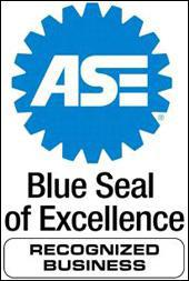 ASE Blue Deal of Excellence Recongnized Bussiness