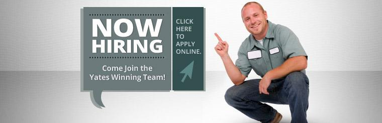 Now Hiring: Click here to apply online.