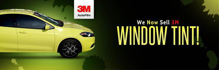 We now sell 3M window tint!