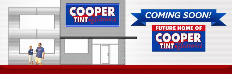 Future Home of Cooper Tint & Electronics