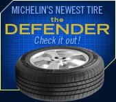 Michelin®'s Newest Tire: The Defender. Check it out!