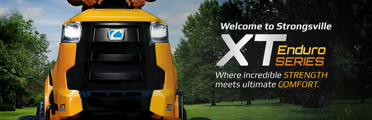 Cub Cadet XT Enduro Series: Click here to view the models.