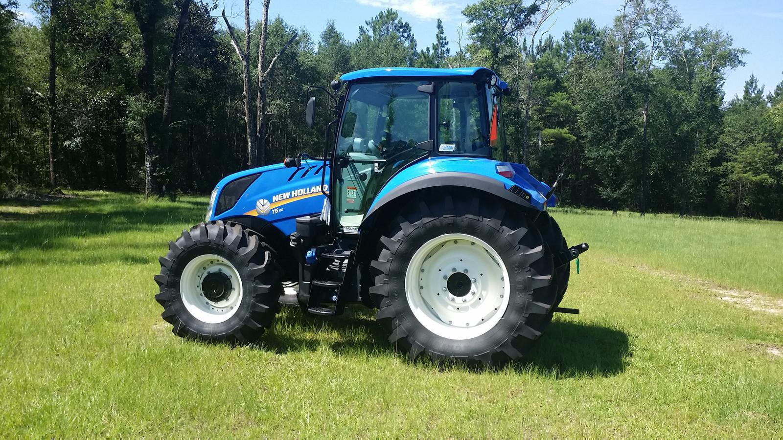 2016 New Holland Agriculture T5 Series - Tier 4B T5 110 for sale in
