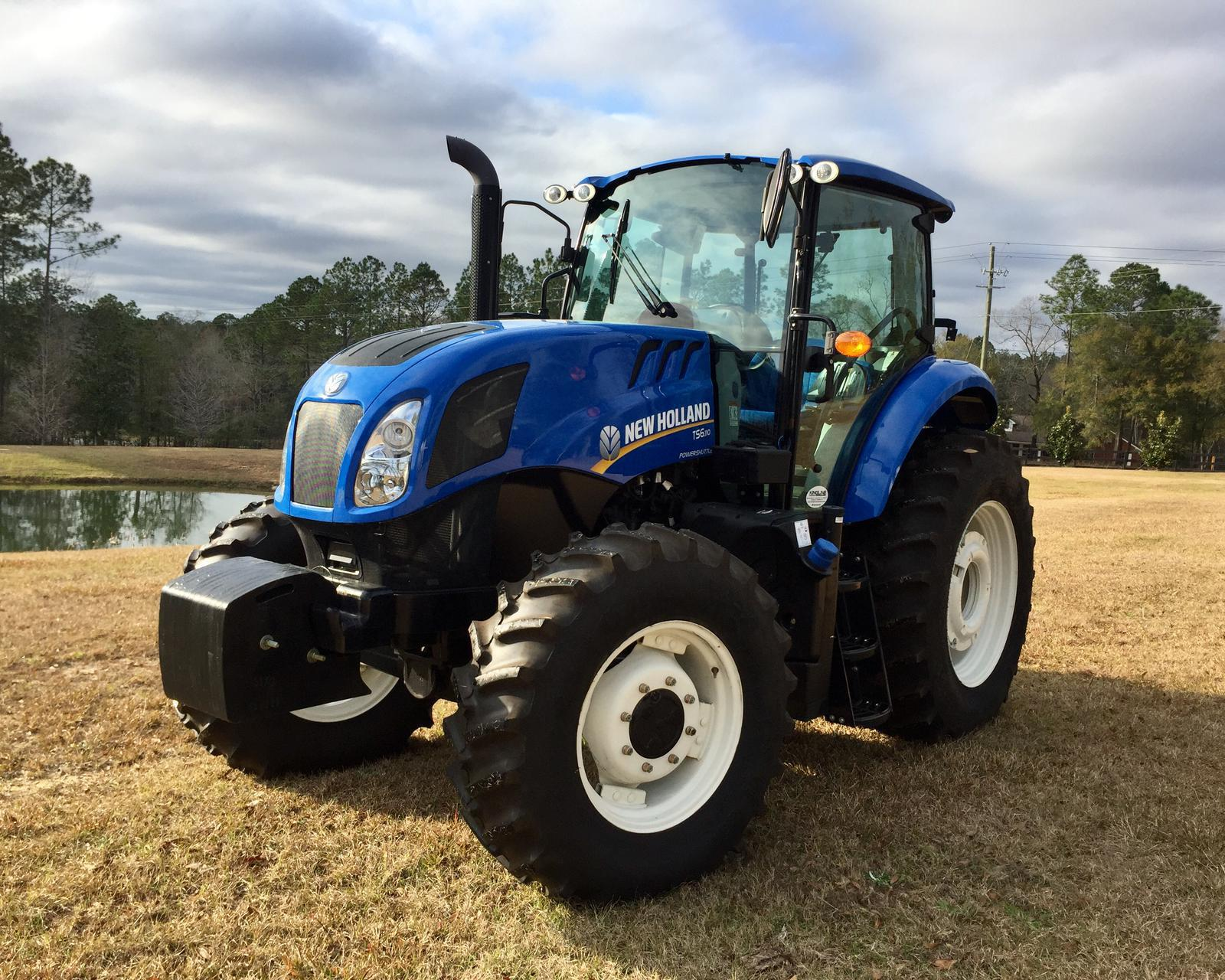 2016 New Holland Agriculture TS6 Series - Tier 4B TS6 110