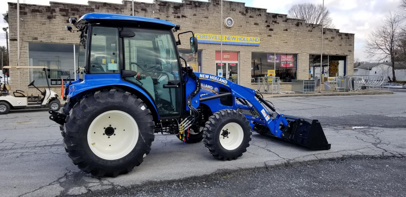 2018 New Holland Agriculture Boomer 35-55 HP Series 50 Cab