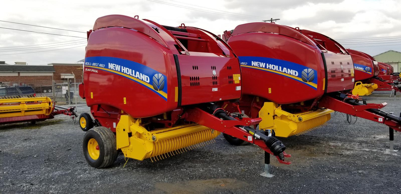 2018 New Holland Agriculture Roll-Belt™ Round Baler Roll-Belt™ 460