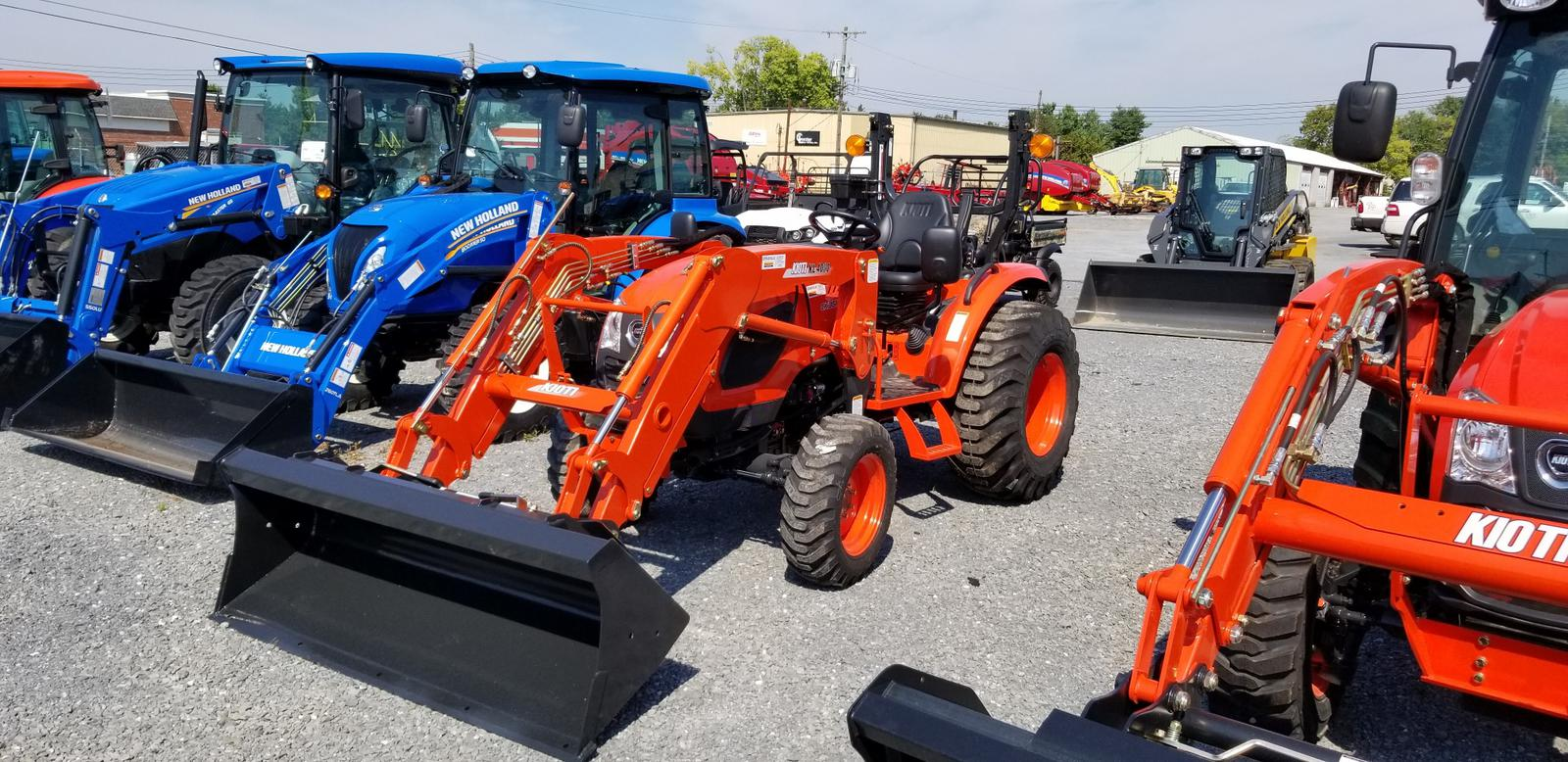 Agricultural Tractors from KIOTI Ceresville New Holland, Inc