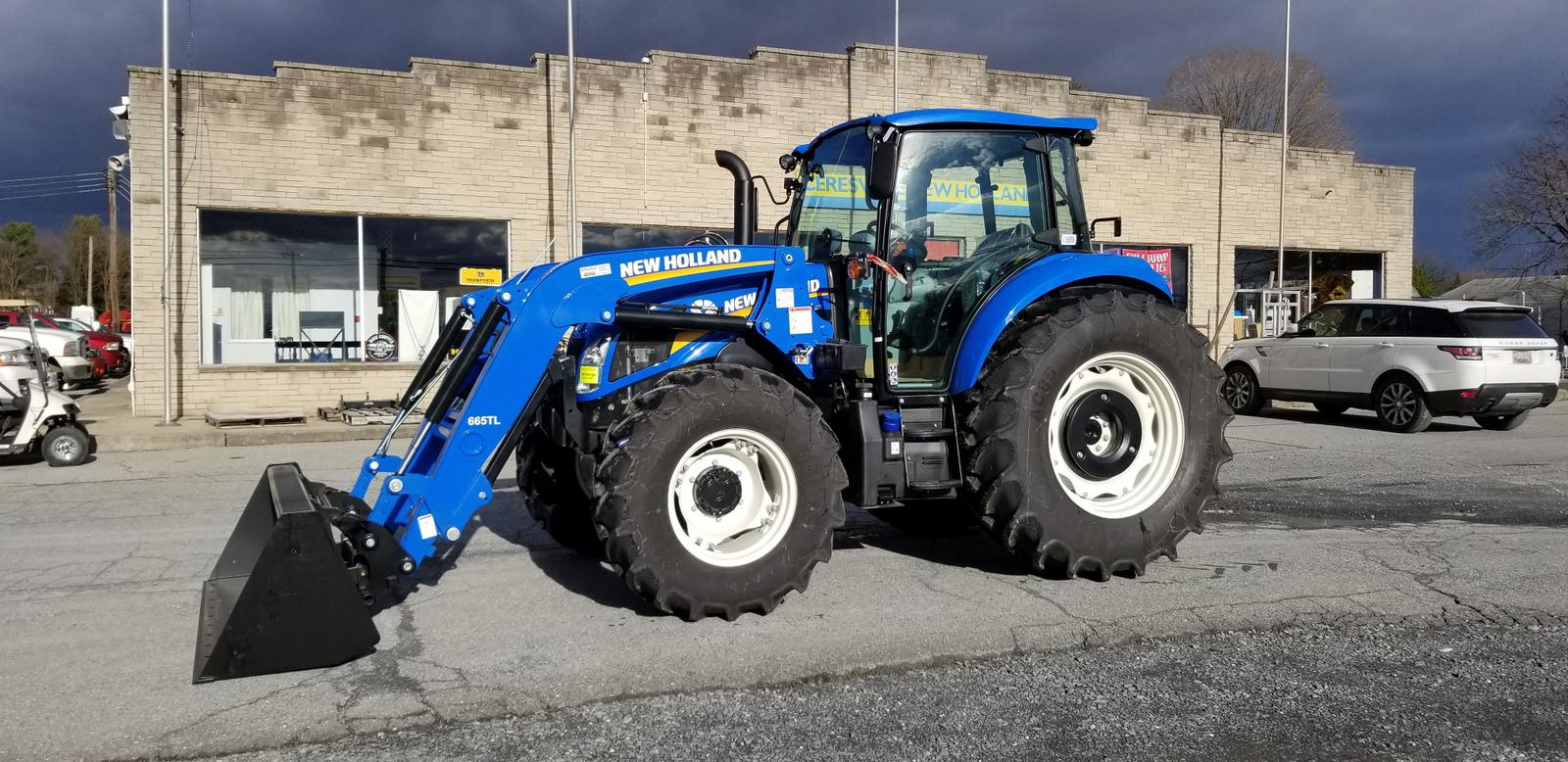 2019 New Holland Agriculture T5 Series - Tier 4B T5 110 Dual Command™