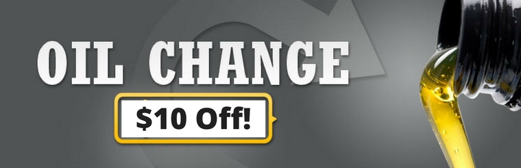 Oil Change $10 Off with coupon