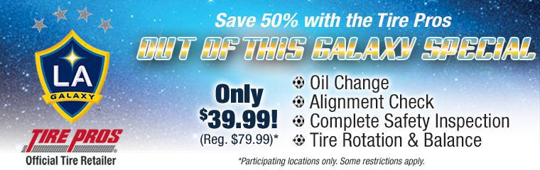 Save 50% With The Tire Pros Out Of This Galaxy Special