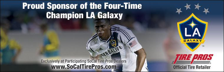 Proud Sponsor of the Two-Time Defending Champion LA Galaxy