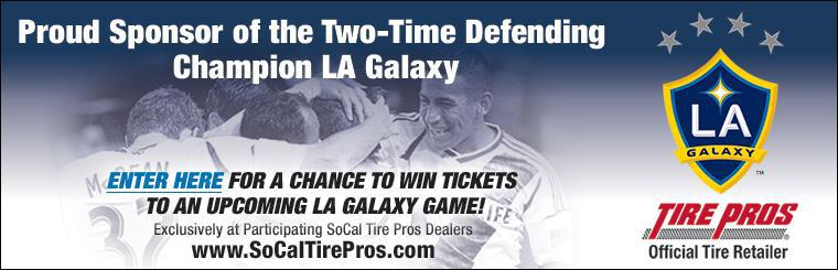 SoCal Tire Pros is a proud sponsor of the Two-Time Defending Champion LA Galaxy