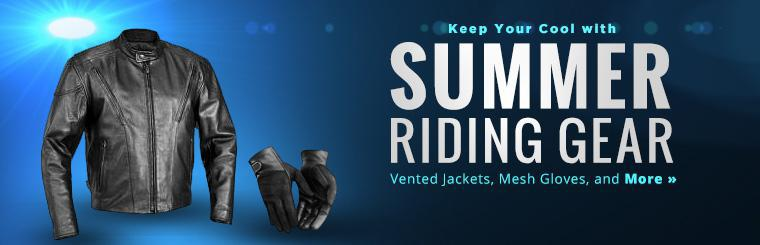 Keep your cool with summer riding gear!
