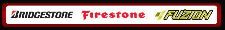 We proudly carry products by Bridgestone, Firestone, and Fuzion.