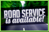 Road service is available!