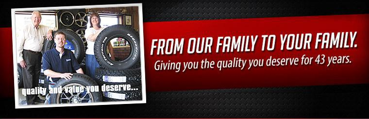 Blue Ridge Tire: Giving you the quality you deserve for 43 years.