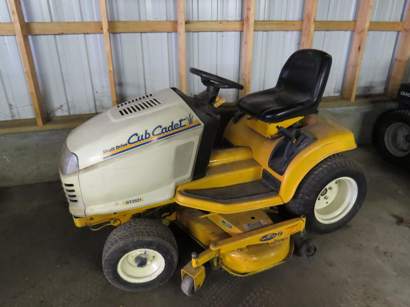 Inventory from Bobcat and Cub Cadet Holtz Service & Small