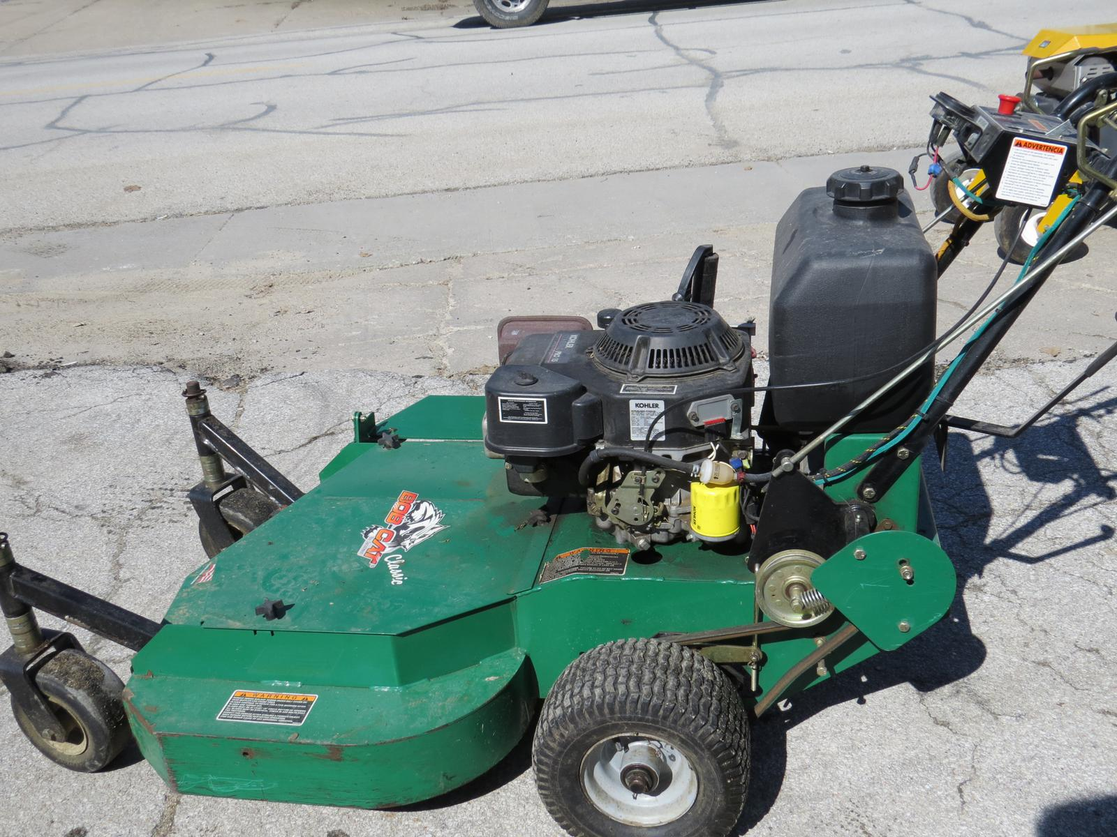 Stand Behind Lawn Mower >> Bobcat Bobcat Classic Walk Behind Mower 30