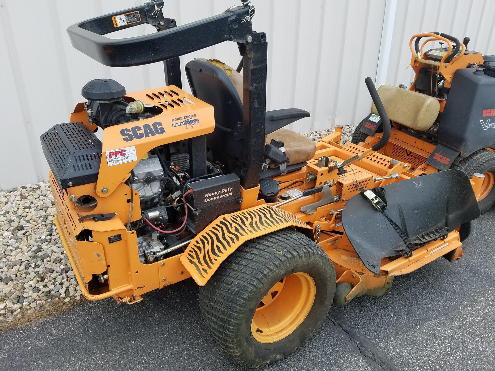 """2013 scag 61"""" turf tiger™ with fd791 kawasaki engine for sale in"""
