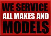 We service all makes and models.