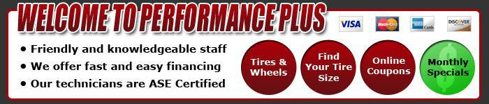 Welcome to Performance Plus